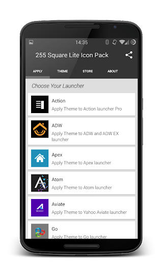 255 Square Lite Icon Pack