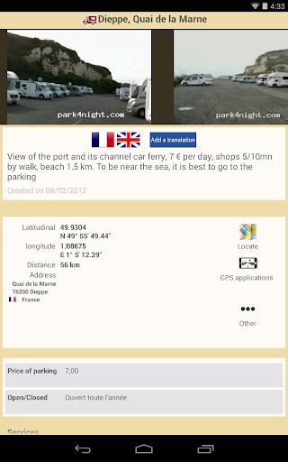 park4night - Motorhome camper 5.3.2 screenshots 14