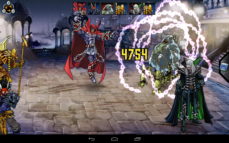 android Mutants: Genetic Gladiators Screenshot 17