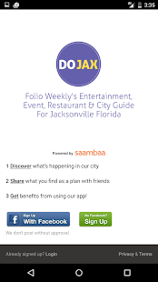 DOJAX - Jacksonville Events - screenshot thumbnail