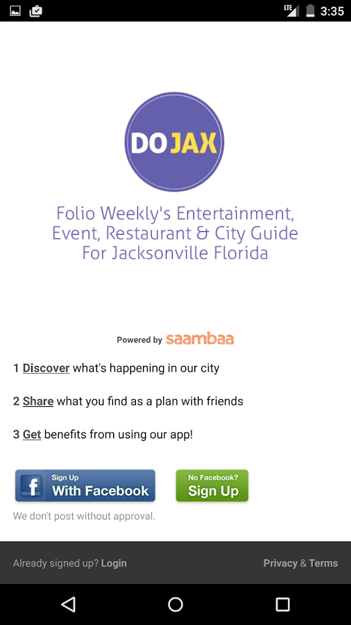 DOJAX - Jacksonville Events - screenshot