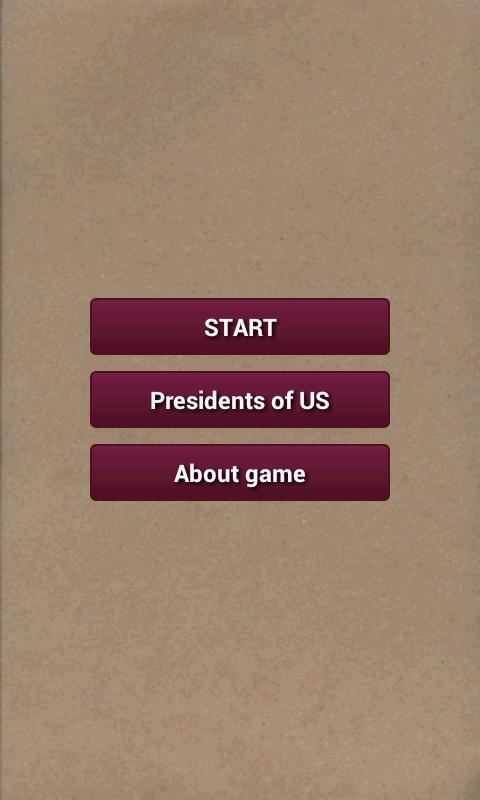 Presidents of U.S.-quiz - screenshot