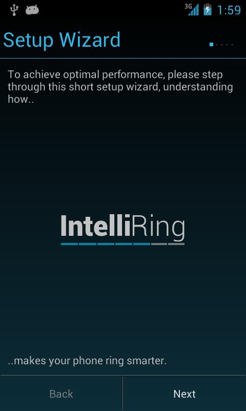 IntelliRing - screenshot