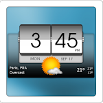 3D Flip Clock & Weather 5.00.02