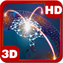 Futuristic Network Globe 3D