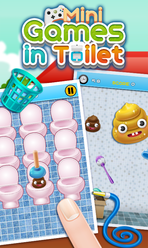 Toilet game for time android apps on google play