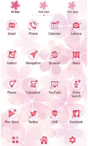 玩免費個人化APP 下載★免費換裝★櫻花色彩 app不用錢 硬是要APP