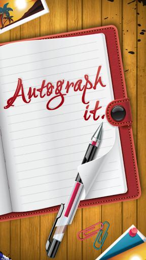 Autograph It.
