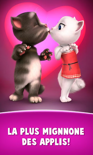 Lettres d'amour de Talking Tom  captures d'écran 1