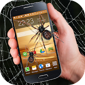 Spider in phone funny joke for Lollipop - Android 5.0