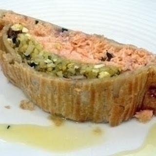 Salmon En Croute.