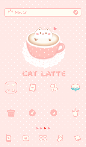 cat latte dodol theme