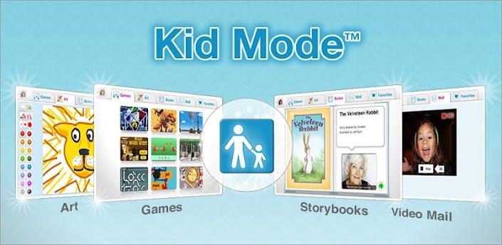 Modo Niños: Juegos y Videos
