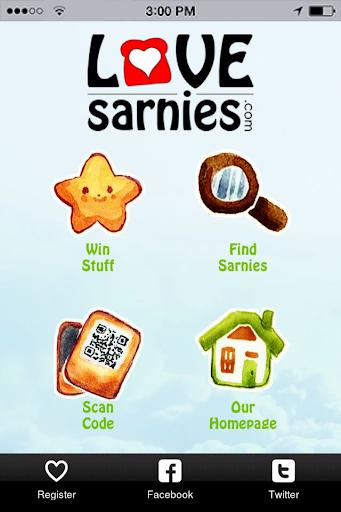 LoveSarnies Sandwich Finder