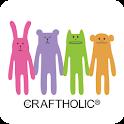 CRAFTHOLICアイコンきせかえ・ライブ壁紙セット logo