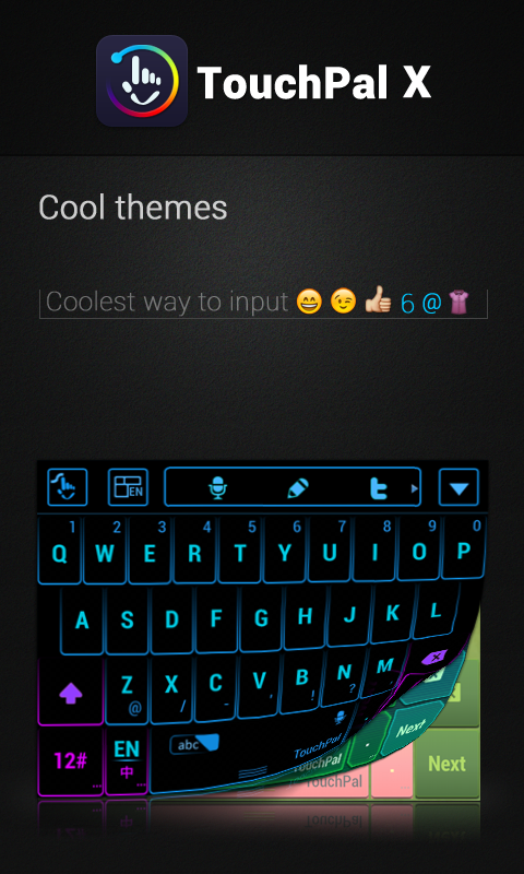 Tagalog TouchPal Keyboard - screenshot