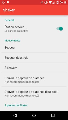 Shaker Module - Screenshots