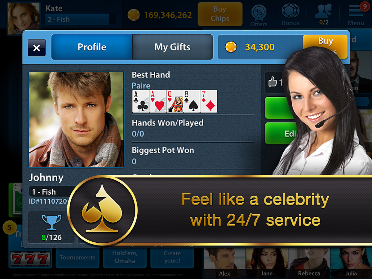 Texas Holdem Poker VIP - screenshot