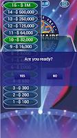Screenshot of Millionaire Trivia