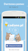 Screenshot of Zadane.pl