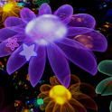 Bright Flowers Live Wallpaper logo