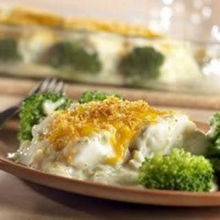 Broccoli Fish Bake.