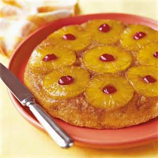 Skillet Pineapple Upside-Down Cake.