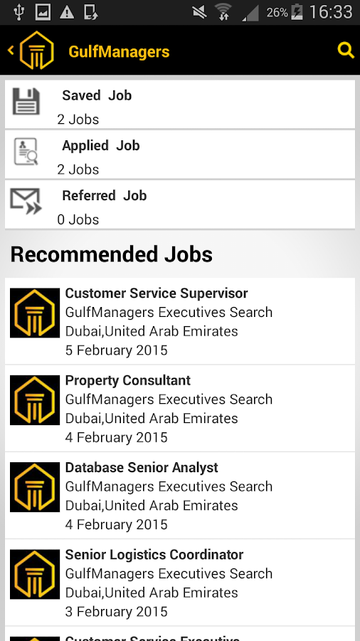 GulfManagers- screenshot