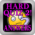 Hardest Quiz Ever 2 Answers!