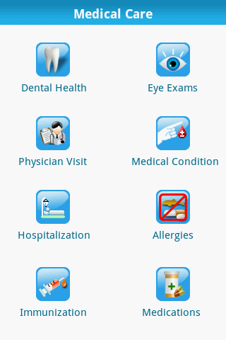 Healthec phr - screenshot