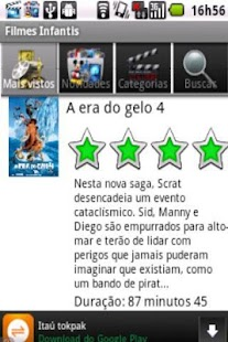 Filmes Infantis - screenshot thumbnail