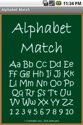 Alphabet Match - screenshot