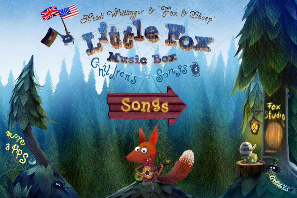Little Fox Music Box- screenshot