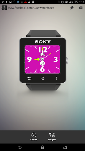 JJW Excite Watchface 7 for SW2