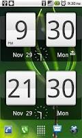 Screenshot of Sense Analog Clock Widget 24