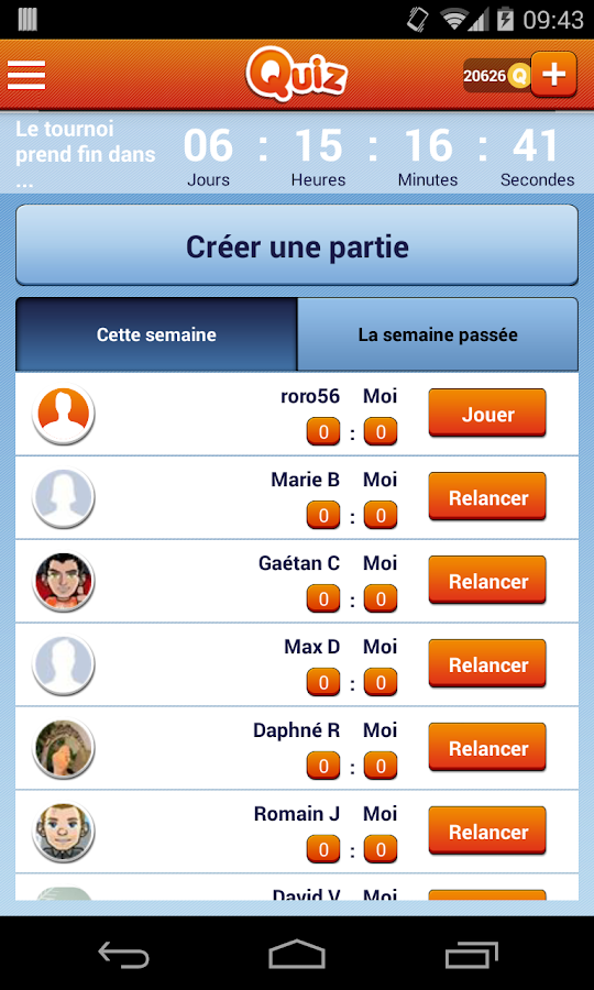 Quiz : Tests et quizz - screenshot
