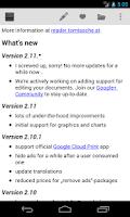 Screenshot of OpenDocument Reader