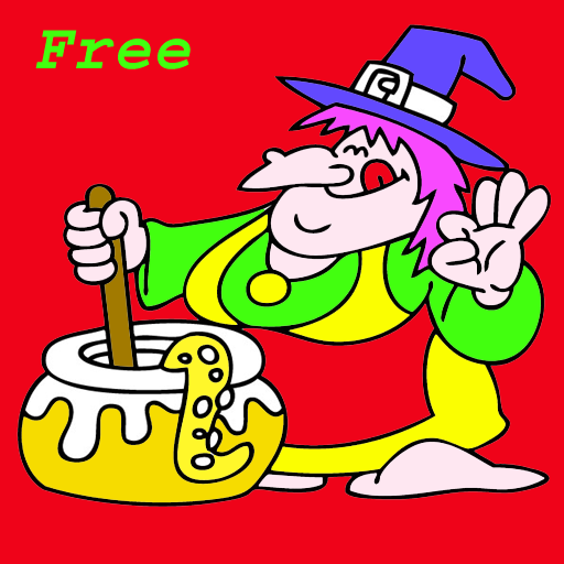 Coloring book games LOGO-APP點子
