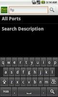 Screenshot of Port Numbers