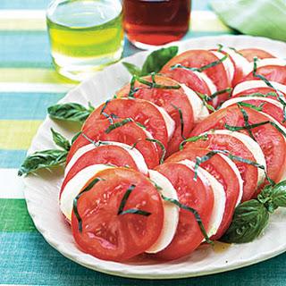 Mozzarella, Tomato and Basil Salad.