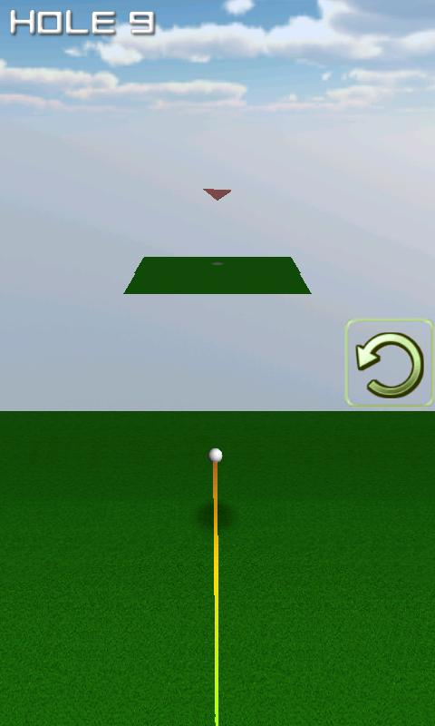 One Shot Putting Golf 2 - screenshot