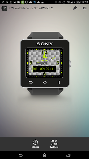 JJW Carbon Watchface 6 for SW2