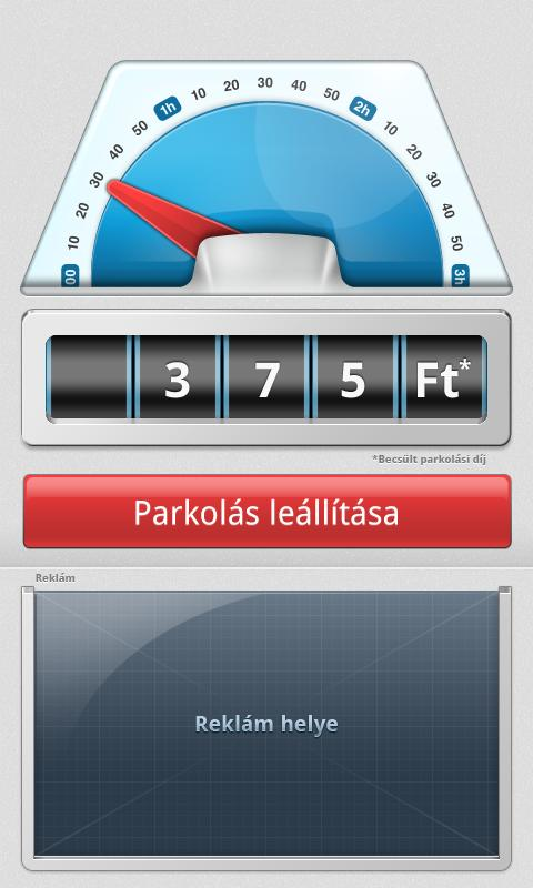 ParkolóÓra - screenshot