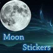 Moon Sticker Widget Pack