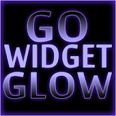 GOWidget Theme- Purple Glow Ex