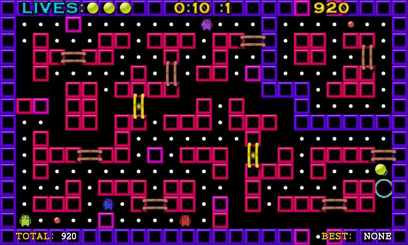 Pac-Ball Full- screenshot