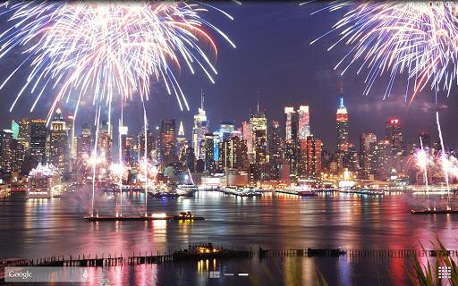New Year Fireworks LWP (PRO) 1.3.1 screenshots 10