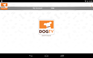 Screenshot of DOGTV Anywhere