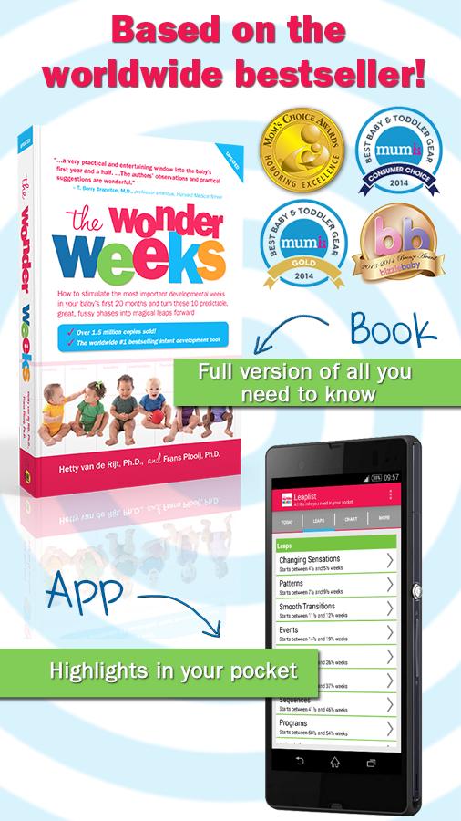 Baby Wonder Weeks Milestones - screenshot