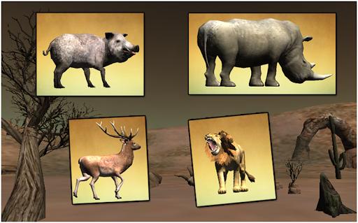 沙漠狩獵遊戲